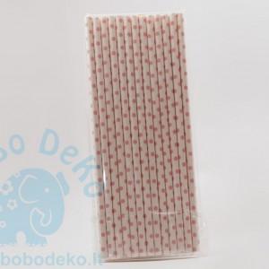 popieriniai šiaudeliai