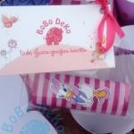 """Etiketė saldainiams """"Antytė Rožė"""""""