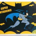 """Gimtadienio plakatas """"Betmenas"""""""