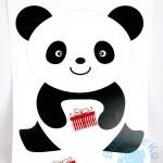 """Gimtadienio žaidimas """"Panda"""""""