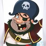 """Gimtadienio žaidimas """"Piratas"""""""