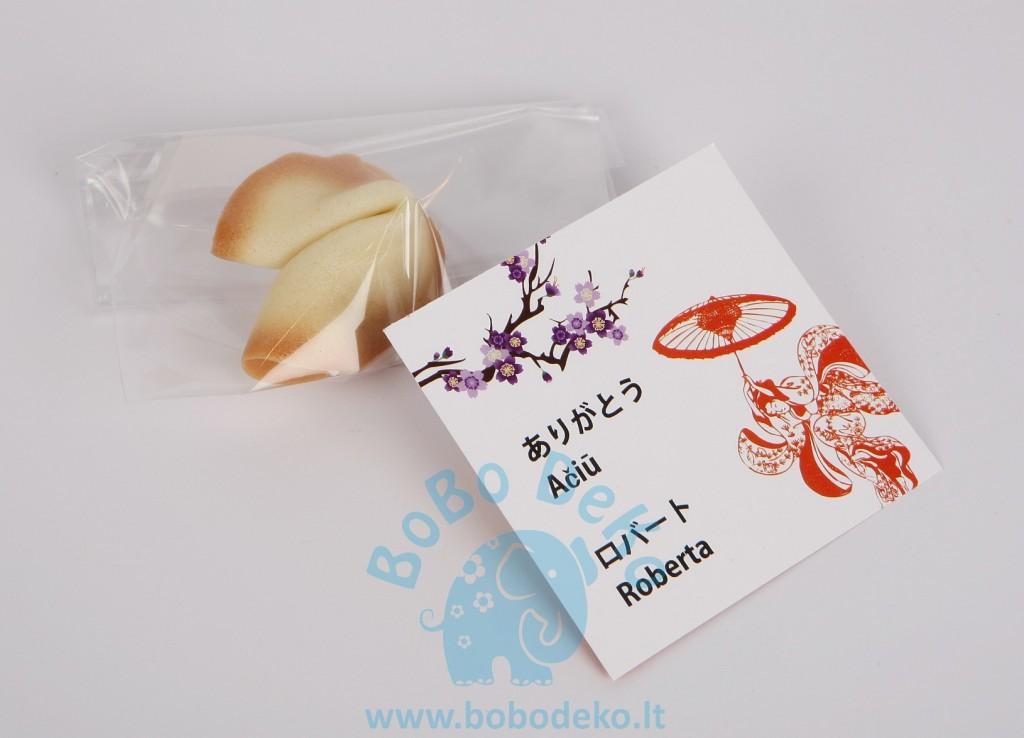 """""""Ačiū"""" kortelė """"Japonija"""" 1vnt."""
