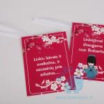 """Linkėjimų kortelės draugams """"Japonija"""" 1vnt."""