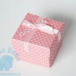 """Dėžutė """"Rožiniai taškeliai"""" 1vnt."""