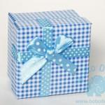 """Dėžutė """"Mėlyni langeliai"""" 1vnt."""