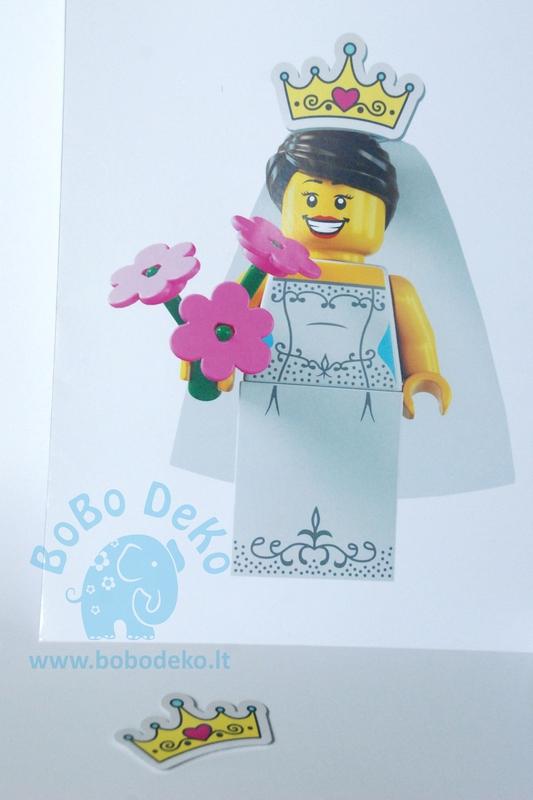 "Žaidimas ""Lego dama"" 1vnt."