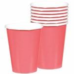 """Vienkartiniai puodeliai """"Rožiniai"""" 8vnt., 226ml"""