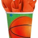 """Popieriniai puodeliai """"Krepšinis"""", 8vnt."""