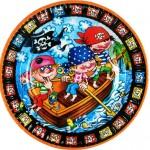 """Lėkštės """"Linksmieji piratai"""", 8vnt."""