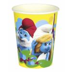 """Vienkartiniai puodeliai """"Smurfai"""", 8vnt."""