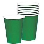 """Vienkartiniai puodeliai """"T.žali"""", 8vnt."""