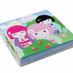 """Popierinės servetėlės """"Japoniukė"""", 20vnt."""