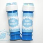 """Etiketės muilo burbulams """"Mėlynė"""", 1vnt."""