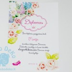 "Diplomas ""Princesė"", 1vnt."