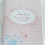 """Knygelė """"Rožiniai taškeliai"""", 1vnt."""