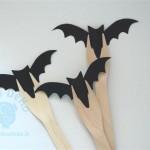 """Dekoruotos šakutės """"Helovynas"""", 10vnt."""
