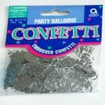 """Konfeti """"Sidabriniai balionėliai"""", 1vnt."""