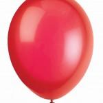 """Balionas """"Raudonas"""" (30cm), 1vnt."""