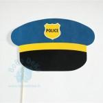 """Fotosesijai """"Policininko kepurė"""", 1vnt."""
