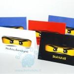 "Stalo kortelės ""Ninjago"", 5vnt."