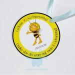 "Padėkos kortelė ""Bitės medutis"", 1vnt."