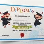 "Diplomas ""Vaikai"", A5, 1vnt."