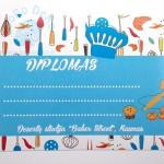 """Diplomas """"Kulinaras -2"""", A5, 1vnt."""