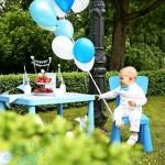 Staliukas ir kėdutė (mėlyna), 1vnt. (NUOMA)