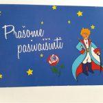 """Stalo kortelės """"Mažasis princas"""", 5vnt."""