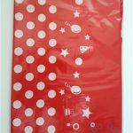 """Staltiesė """"Raudona su detalėm"""" (1,35x2,35cm), 1vnt."""