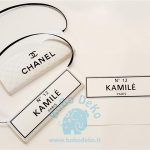 "Etiketė šokoladukams ""CoCo Chanel"", 1vnt."