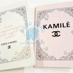 """Atvirutė """"Chanel"""", 10x15, 2vnt."""