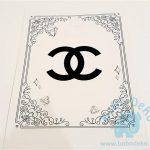 "Atvirutė ""CoCo Chanel"", 13x18, 1vnt."