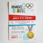 "Kvietimas ""Olimpiada"", 1vnt."